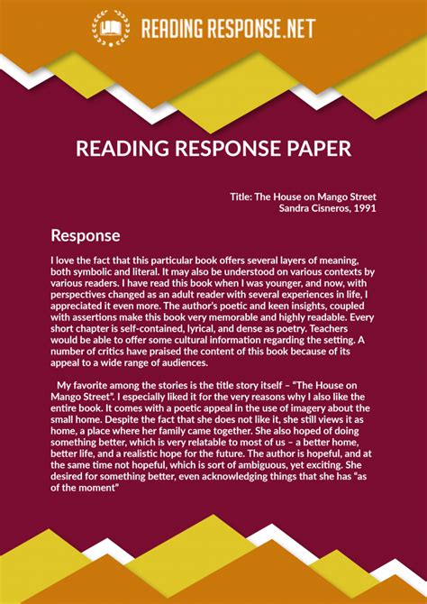 Reader Response Essay by Our Reading Response Paper Writing Service Reading Response