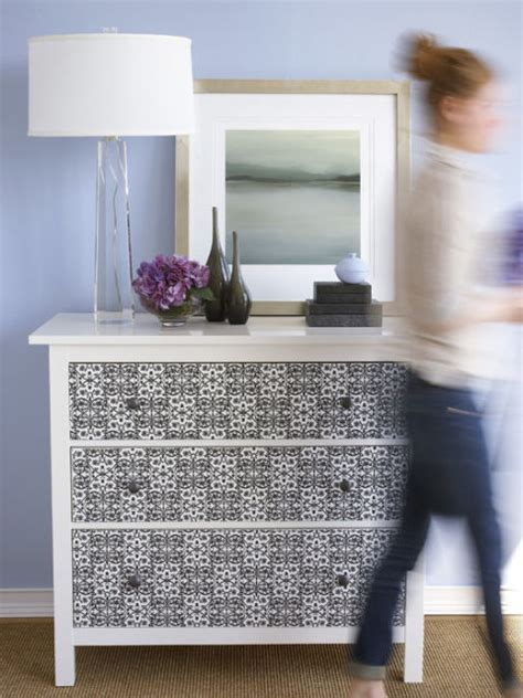 Wallpaper On Dresser by Decorate An Dresser How To Refinish A Dresser With Wallpaper