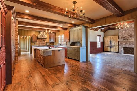 classic colonial homes interior farmhouse kitchen a