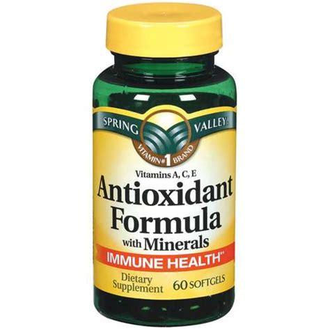 i supplement with formula valley antioxidant formula w minerals softgels