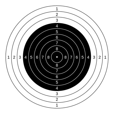 file  air rifle targetsvg wikimedia commons