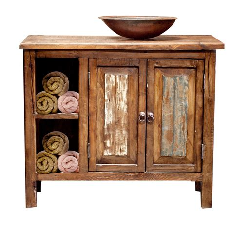 wooden bathroom vanity reclaimed wood bathroom vanity by foxdendecor on etsy