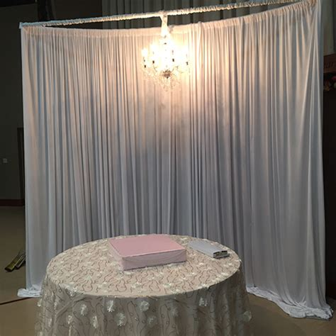 Wedding Backdrop With Chandelier by Pipe Drape Pipe Drape Chandelier Backdrop