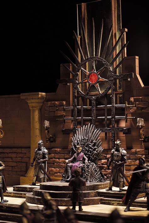 of thrones throne room set mcfarlane construction sets based on of thrones the toyark news