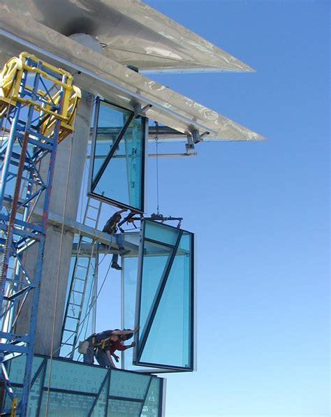 unitized glass curtain wall curtainwall installation inland glass