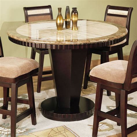 counter top kitchen table sets 40 quot counter height table corallo counter height dining table counter height