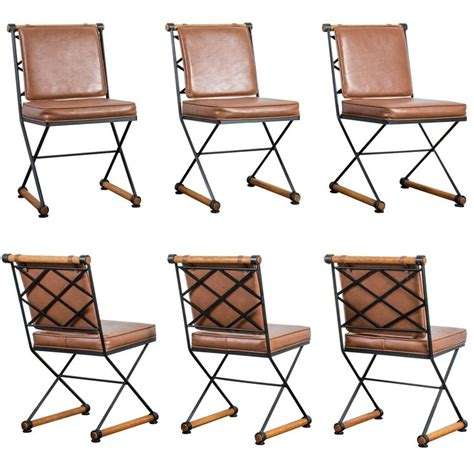 set of six vintage mid century dining chairs by cleo