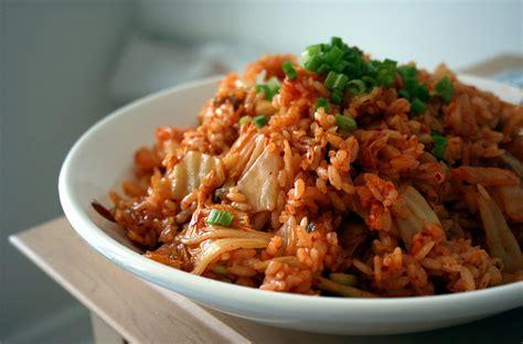 kimchi fried rice kimchi bokumbap recipe