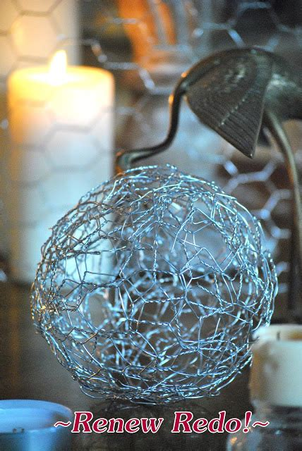 renew redo decking the halls with chicken wire