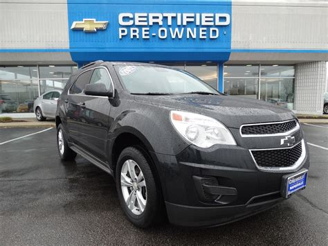 used chevrolet equinox 2012 pre owned 2012 chevrolet equinox lt w 1lt sport utility in