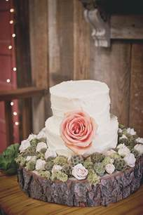 Rustic Vintage Wedding Cakes Photo Captured By Fuller Photography Via Every