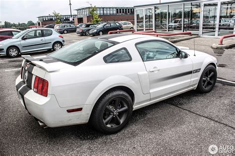 07 Mustang Gt Specs by 07 Ford Mustang California Special