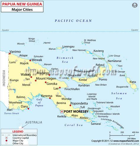 papua new guinea map papua new guinea cities map homeschool idea s c c ch a