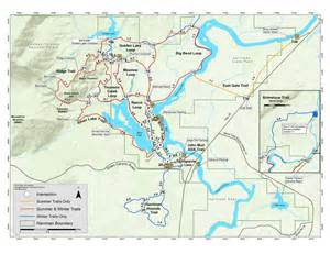 Harriman State Park Trail Map by Harriman Idaho Parks Amp Recreation