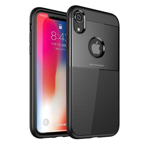 bakeey protective for iphone xr armor anti fingerprint hybrid pc tpu back cover alexnld
