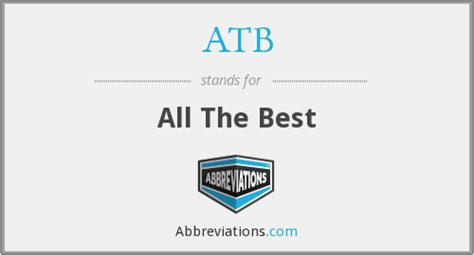 atb all the best atb all the best