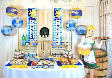 Oktoberfest Decor by Host A Traditional German Oktoberfest