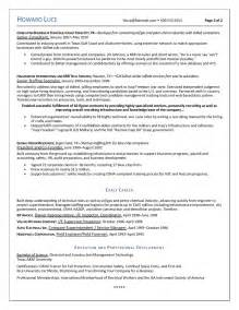 Sle Resume For And Gas Industry by Resumes For And Gas Industry Executives This Brand