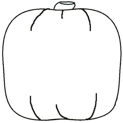 pumpkin outline printable clipartion com
