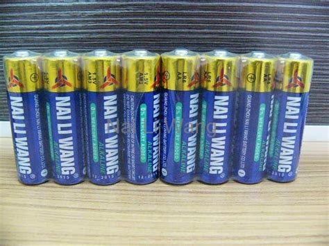 Alkaline Battery Shelf by Lr6 Aa Alkaline Battery Nai Li Wang China Manufacturer