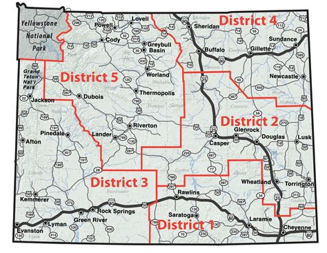 wydot map maps