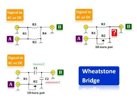 wheatstone bridge vs ohm s index 222 circuit diagram seekic