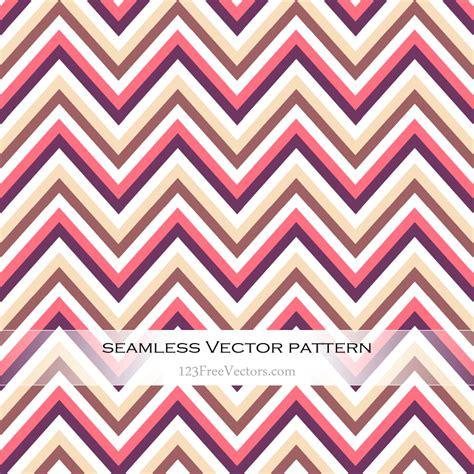 Pola Motif Chevrons Pattern zigzag chevron seamless pattern illustration 123freevectors