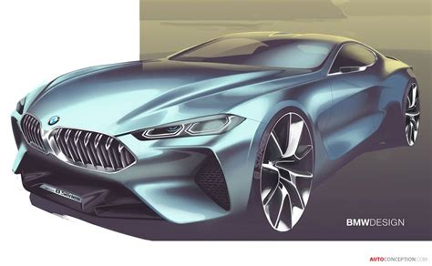8 Series Sketches by 2017 Bmw Concept 8 Series Sketches Bmw Concept Bmw