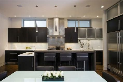 modern espresso kitchen cabinets frameless cabinets contemporary kitchen aimee