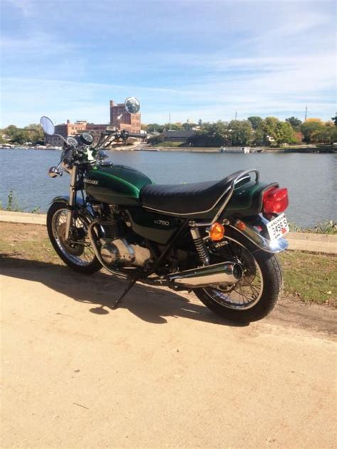 Kawasaki Kz750 For Sale by 1978 Kawasaki Kz750 Kz 750 Nearly Mint For Sale On