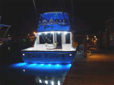 boat trailer lights in water underwater led boat lights localbrush info