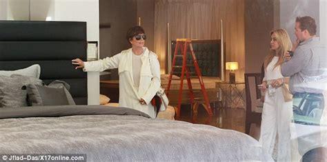 kris jenner bedroom furniture kris jenner takes a break from momager duties as she skips