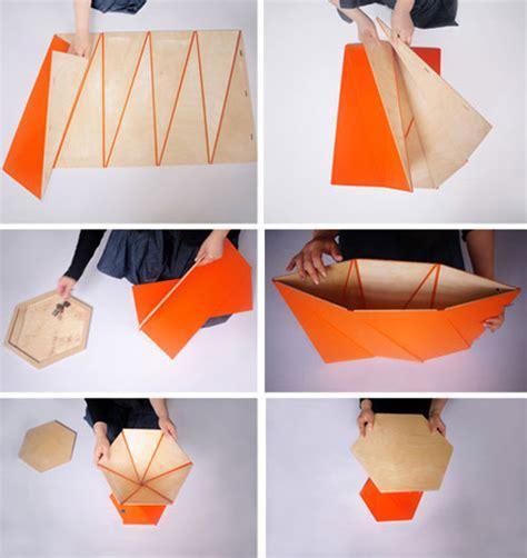 折り紙のように折り上げて形成するインテリア playtime collection designworks