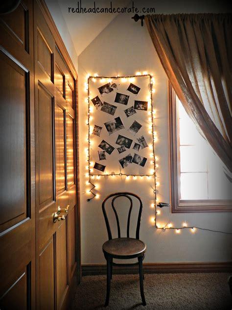 bedroom picture frames simple diy light photo frame bedroom makeover for
