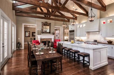 10 Warm Farmhouse Kitchen Designs   YourAmazingPlaces.com