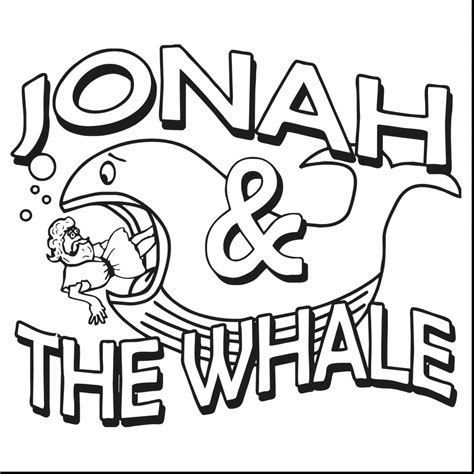 story coloring book jonah and the whale coloring book for