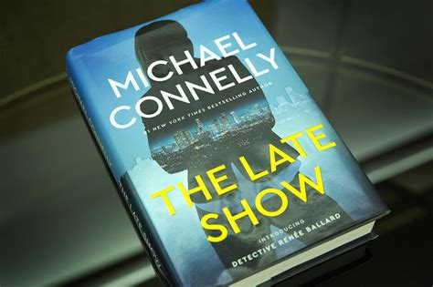 the late show books bosch author michael connelly picks up a new character