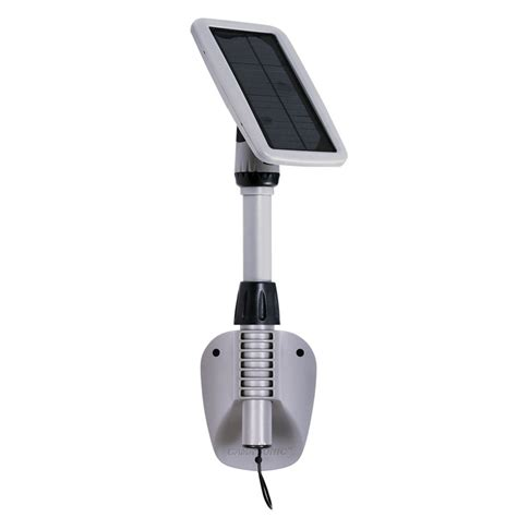 Amazon Com Gama Sonic Light My Shed Iii Solar Led Shed Solar Panel Shed Light