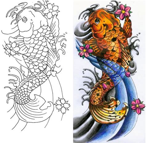 tattoo design japanese koi japanese koi by tikitavi on deviantart