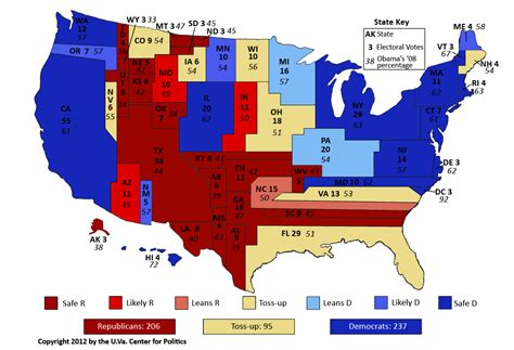 United States Political Party Map 2012 | image gallery political states