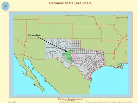 permian basin texas map permian basin