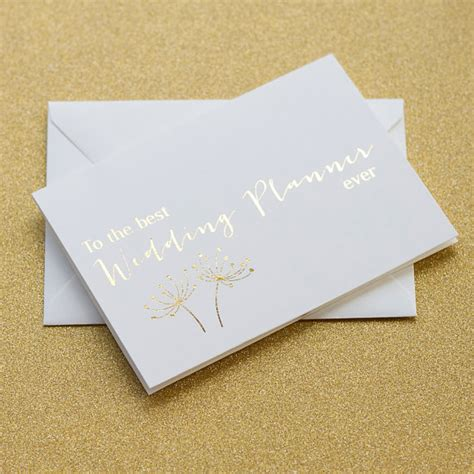Wedding Planner Thank You Gift by Thank You Gift Wedding Planner Imbusy For