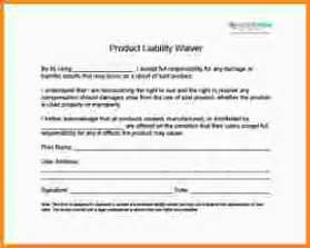 8 liability waiver template mac resume template