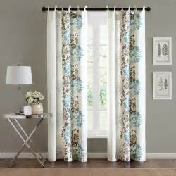 Curtains Overstock Madison Park Adria Cotton 84 Inch Curtain Panel