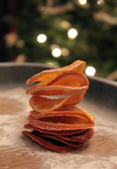make dried orange slice ornaments orange slices