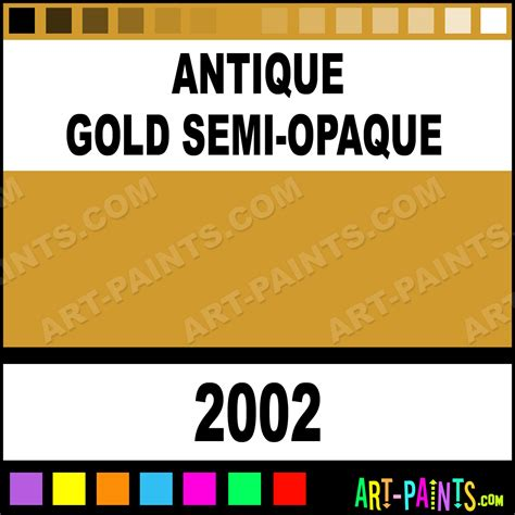 antique gold semi opaque ceramcoat acrylic paints 2002 antique gold semi opaque paint
