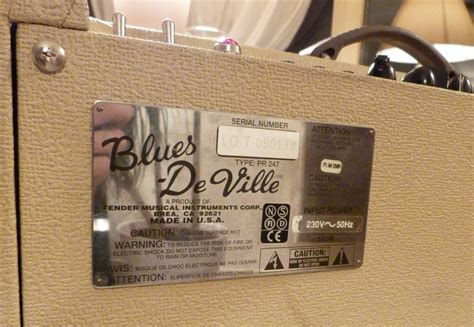 Fender Blues Deville 410 Reissue Image 546712