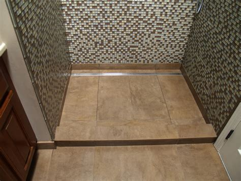 bathroom channel drain linear channel drain shower contemporary bathroom