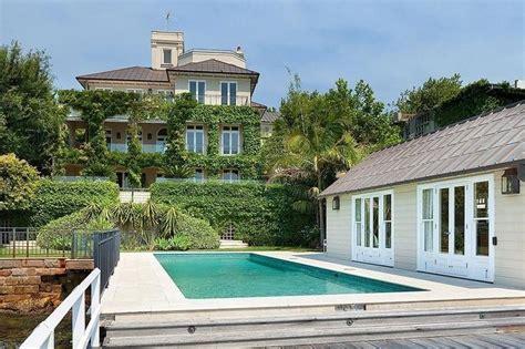 7 bedrooms ocean front villa in sydney point piper australia