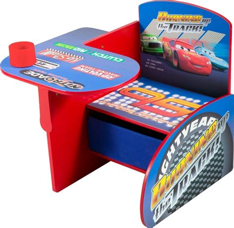 Lightning Mcqueen Desk by Disney Cars Chair Desk With Pull Out The Seat